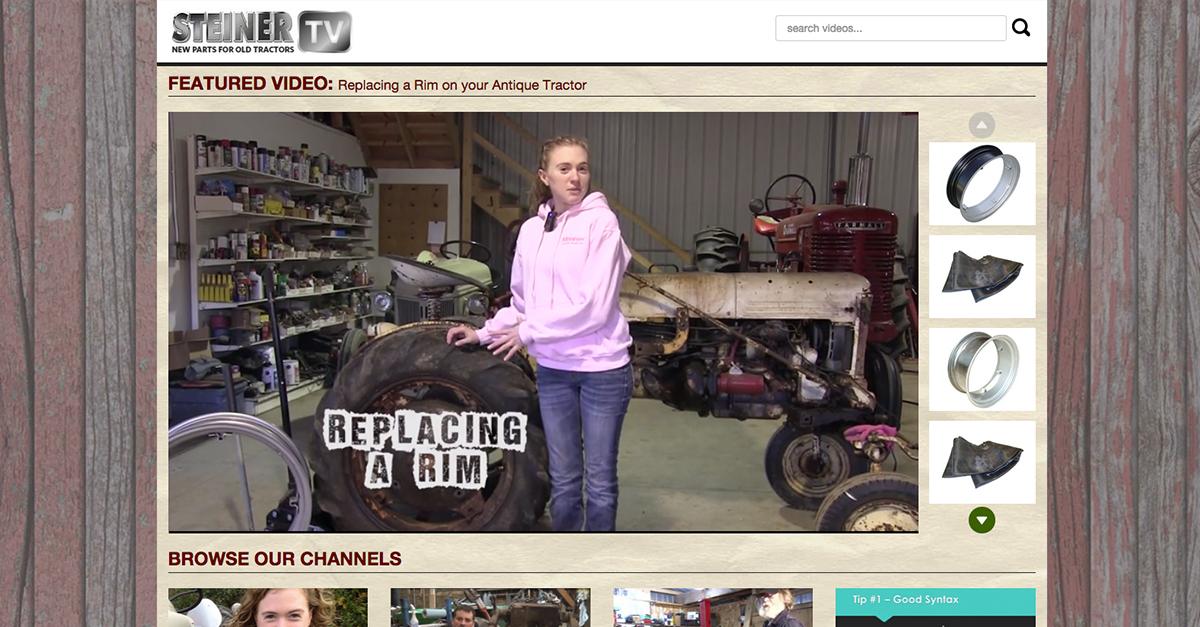 Steiner Tractor TV