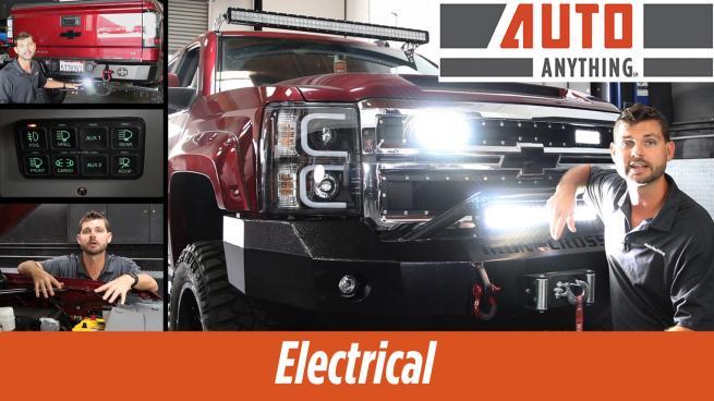 Silverado Build Electrical Amp Lighting