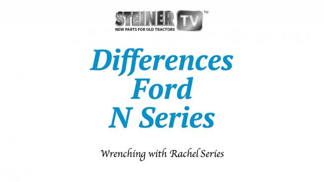 Differences Ford N Series