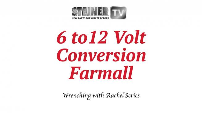 6 To 12 Volt Conversion Farmall
