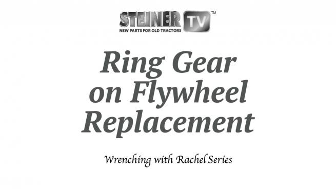 Ring Gear on Flywheel Replacement