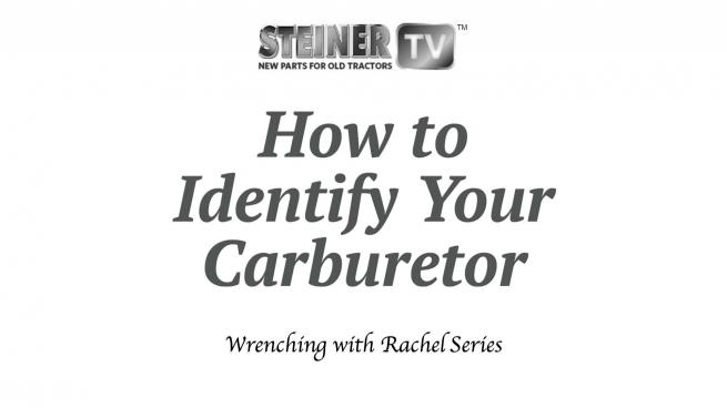 How to identify your carburetor